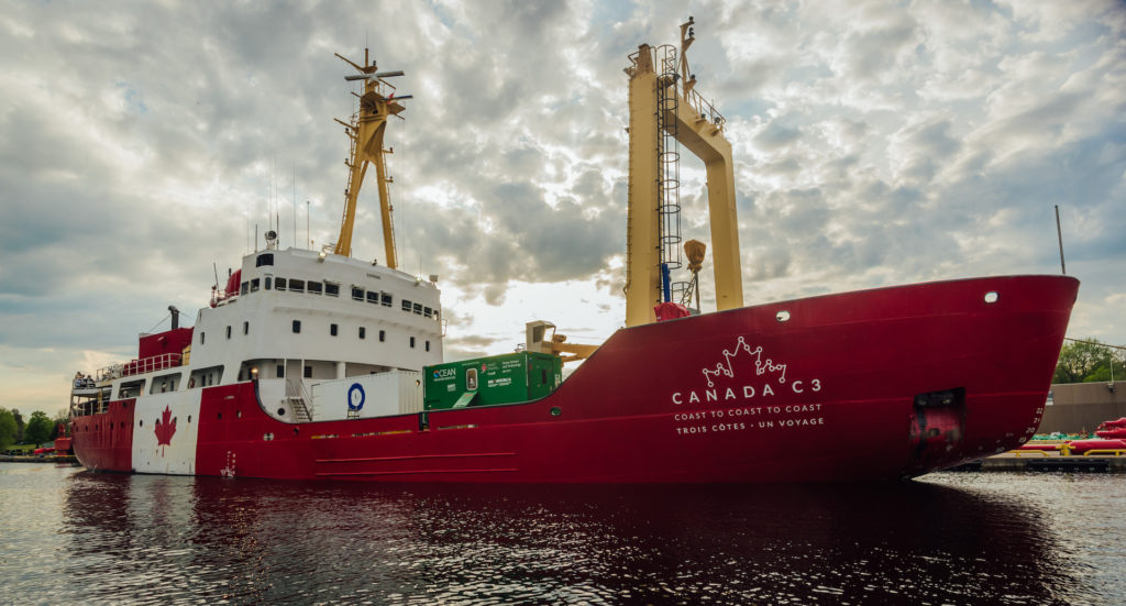 Canada 150 ice breaker nears end of journey from coast to coast to coast